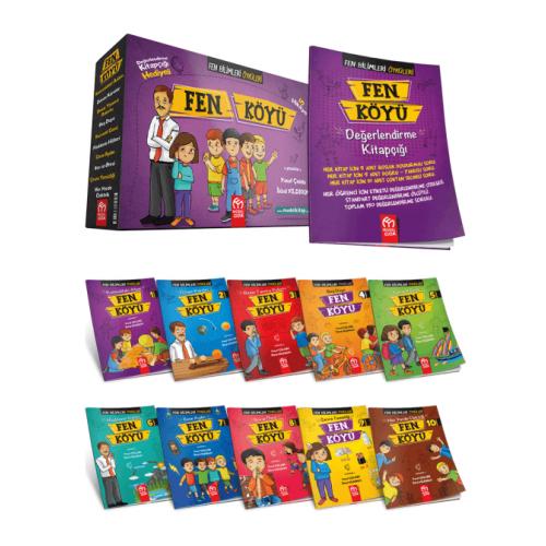 Model Çocuk 3. ve 4. Sınıf Fen Köyü Hikaye Seti 10 Kitap